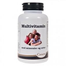 Camette - Multi-vitaminer med mineraler og Urter
