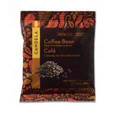 CANDELA - Økologisk Chokolade Overtrukket Kaffebønner