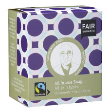 FAIR SQUARED - Økologisk All-In-One Oliven & Øl Sæbebar