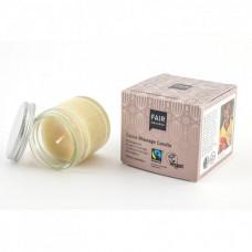 FAIR SQUARED - Cocoa Massage Candle - Zero Waste