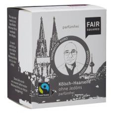 FAIR SQUARED - Økologisk Øl Sæbebar til Skaldede Hoveder