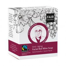 FAIR SQUARED - Økologisk Anti-age Ansigtssæbe med Rødvin