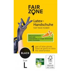 FAIR ZONE - 1 par Sorte Latex Handsker Str. L