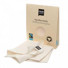 FAIR SQUARED - Økologiske Bomulds Lommetørklæder - Zero Waste