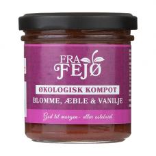 Fra Fejø - Økologisk Blomme, Æble og Vanilje Kompot
