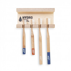HYDROPHIL - Væghængt Tandbørste Holder til 4 Tandbørster