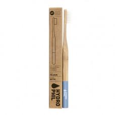 HYDROPHIL - Bambus Tandbørste i Blå Medium