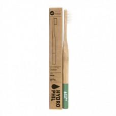 HYDROPHIL - Bambus Tandbørste i Grøn Medium
