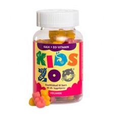 Kids Zoo - Kalk + D3-Vitamin