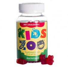 Kids Zoo - Multivitamin Med Jordbærsmag