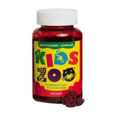 Kids Zoo - Multivitamin + Mineraler vegansk