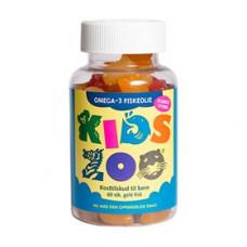 Kids Zoo - Omega 3 Fiskeolie