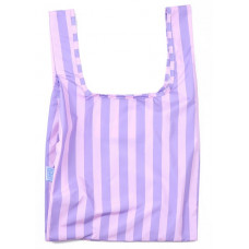KIND BAG - Purple Stribs Indkøbspose i Medium