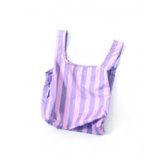 KIND BAG - Purple Stribs Indkøbspose i Mini
