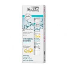 Lavera - Basis Sensitive Øjencreme Q10 Anti-Age