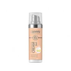 Lavera - Cream Ivory Nude 02 Q10 Tinted Mouisturising 3 in 1