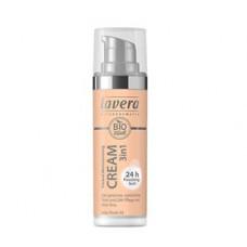 Lavera - Cream Ivory Nude 02 Tinted Mouisturising 3 in 1