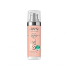 Lavera - Foundation Ivory Rose 00 Soft Liquid