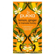 Pukka - Økologisk Lemon Ginger Og Manuka Honey Te