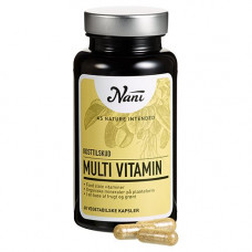 Nani - Multivitamin Food State 60 Kapsler