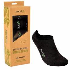 Pandoo - Sorte Bambus Footies i Str. 35-38