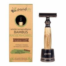 Pandoo - Barberskraber Med Kraftig Bambus Skaft