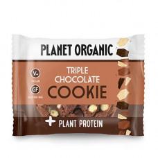Planet Organic - Økologisk Cookie Triple Chocolate Protein