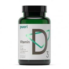 Puori - Vitamin D3 62,5mcg i Kokosolie