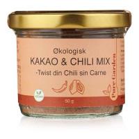 Pure Garden - Økologisk Vegansk Kakao & Chili Mix