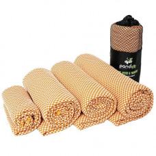 Pandoo - Bambus Håndklæde i Orange 160 x 80 cm L