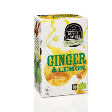 Royal Green - Ginger & Lemon Tea