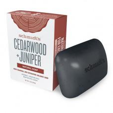 schmidt´s naturals - Cedarwood + Juniper Soap Bar
