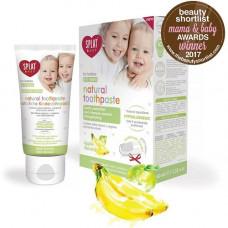 SPLAT Baby - Tandpasta med Æble og Banan smag 0-3 År