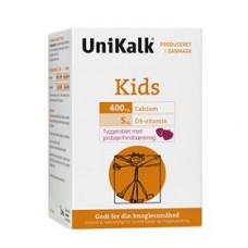 Unikalk - Kids Tyggetablet Jordbær og Hindbær