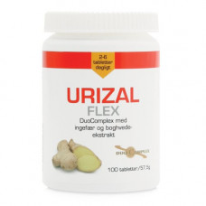 Mezina - Urizal Flex Ingefær 100 tabletter