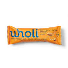 wholi - Insektprotein Bar med Saltede Jordnødder
