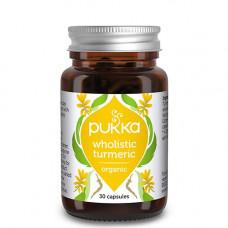 Pukka - Økologisk Wholistic Turmeric  30 Kapsler