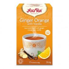 YOGI Tea -  Økologisk Ginger Orange & Vanilla Chai