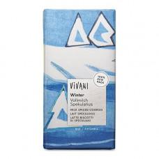 VIVANI - Økologisk Mælkechokolade med Crunch 100g