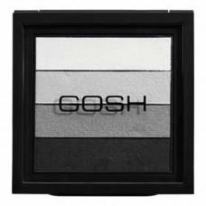 GOSH - Smokey Eyes Palette, 01 Black