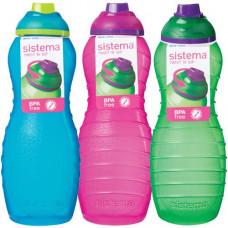 sistema - Drikkedunk Davina Pink grøn pink blå