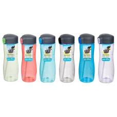 sistema - Drikkedunk Quick Flip med sugerør pink lilla grøn blå