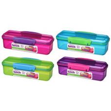 sistema - Snack attack box 2 rum lime blå pink lilla
