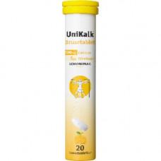 UniKalk - Brusetabletter med Lemon smag