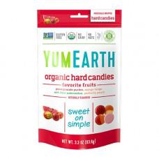 YUMEARTH - Økologiske Bolcher med frugtsmag