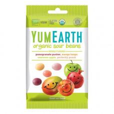 YUMEARTH -  Økologisk Sour Beans Syrligt Slik