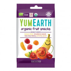 YUMEARTH - Økologisk Vingummi med frugtsmag