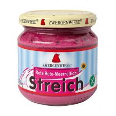 Zwergenwiese - Økologisk Smørepålæg Streich peberrod og rødbede