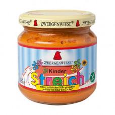 Zwergenwiese - Økologisk Streich Smørepålæg til børn med tomat